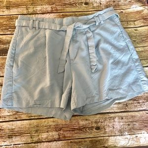 Banana Republic Blue Tailored Bermuda Shorts